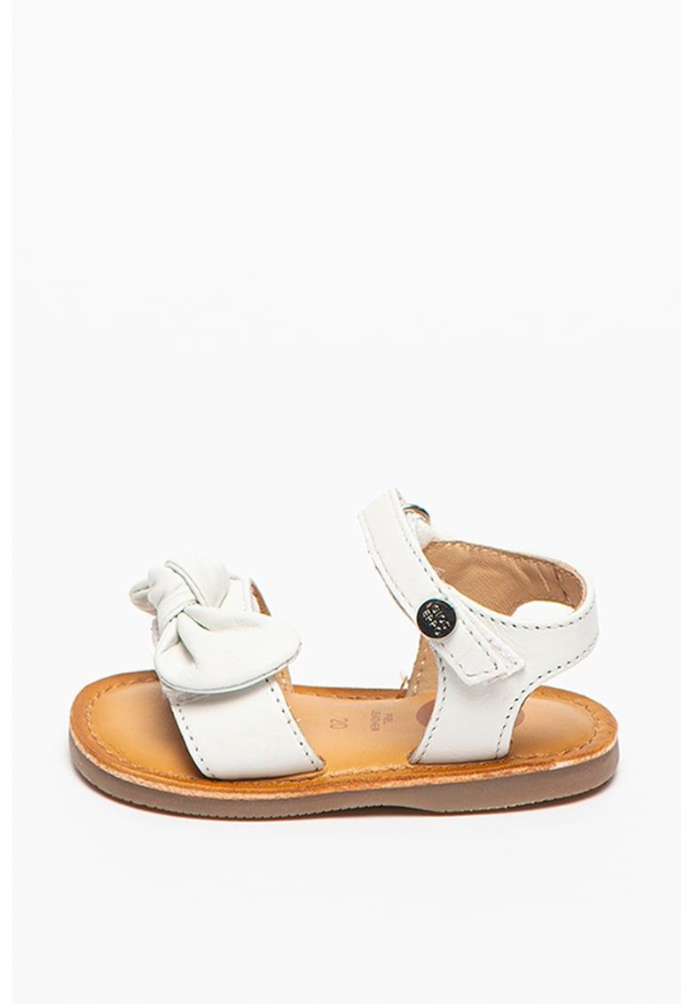 Sandale de piele cu bareta pe glezna Elne imagine