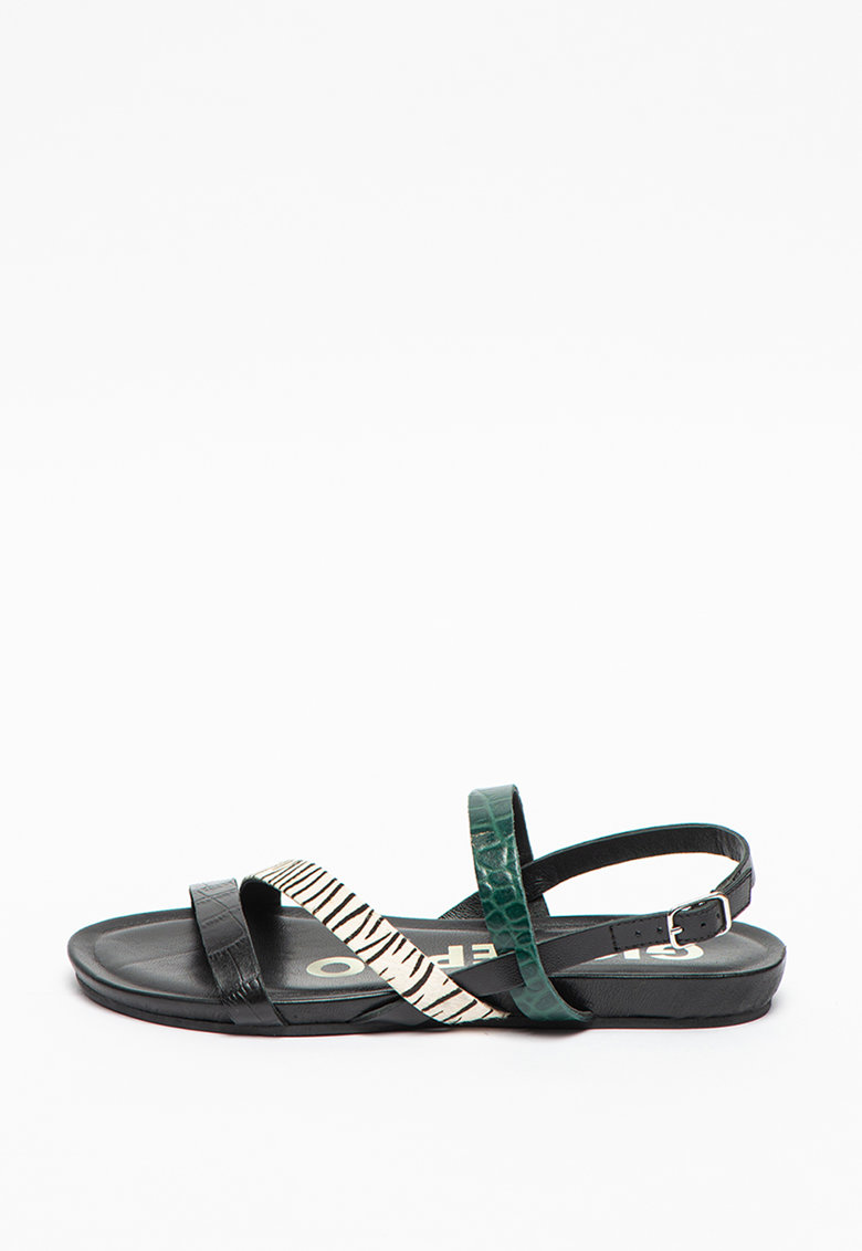 Sandale slingback de piele Rutland fashiondays.ro