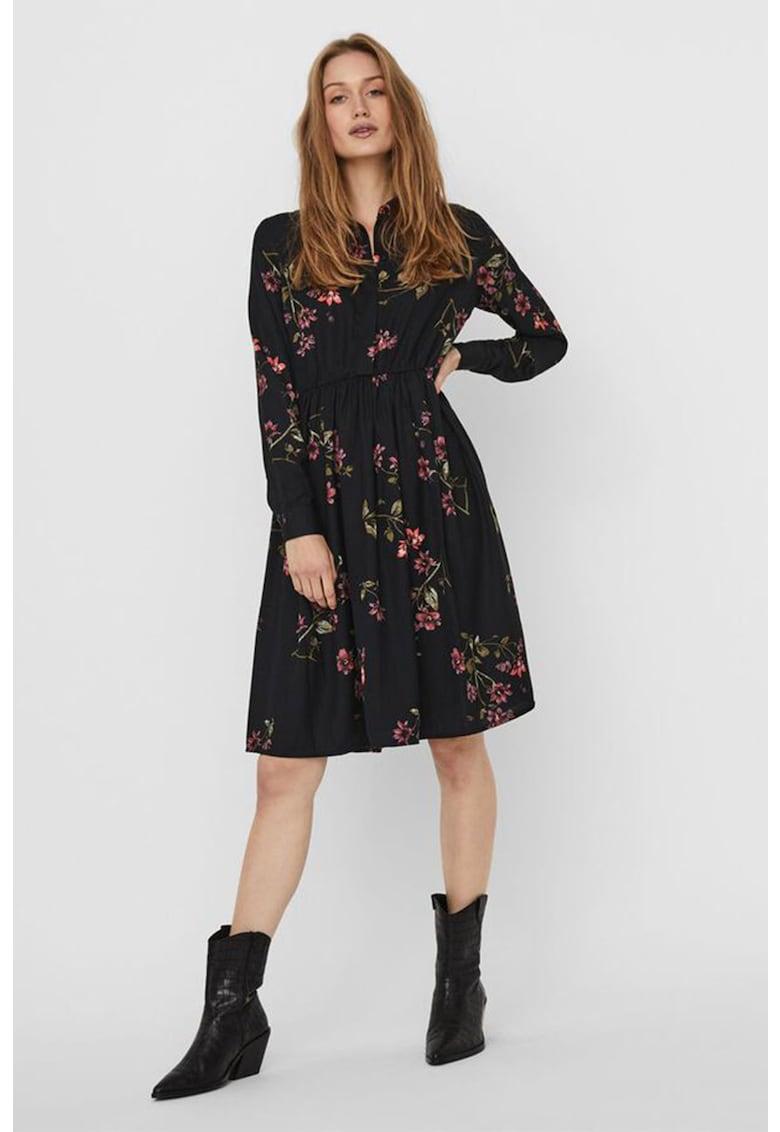 Rochie mini cu imprimeu Gallie Vero-Moda