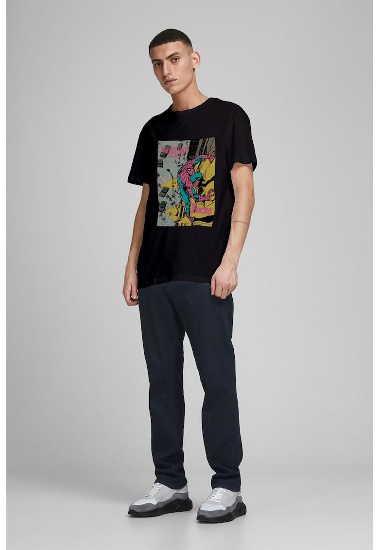 Tricou cu imprimeu Spiderman Bărbați imagine