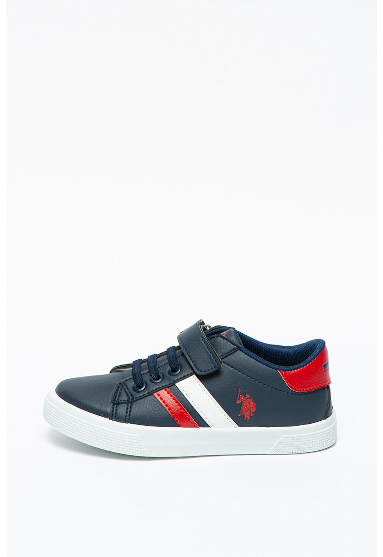 Pantofi sport de piele ecologica cu garnituri contrastante Wexi imagine promotie