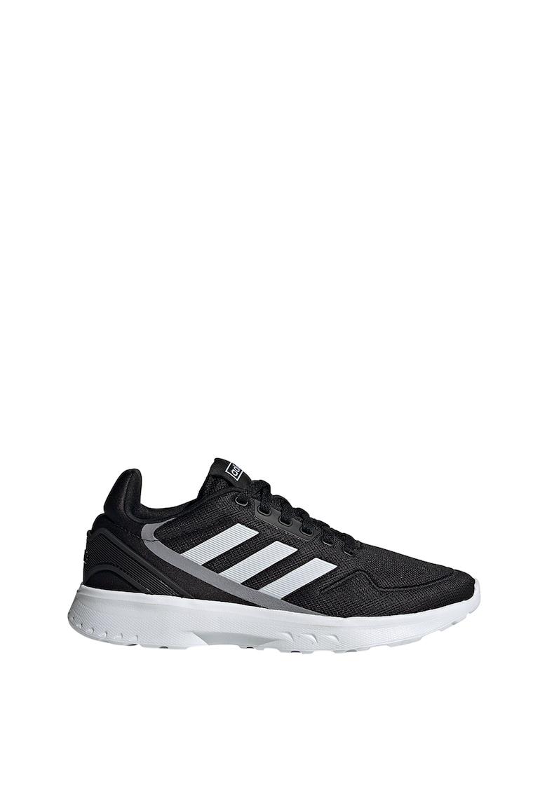 Pantofi cu insertii din plasa pentru alergare Nebzed adidas Performance fashiondays.ro