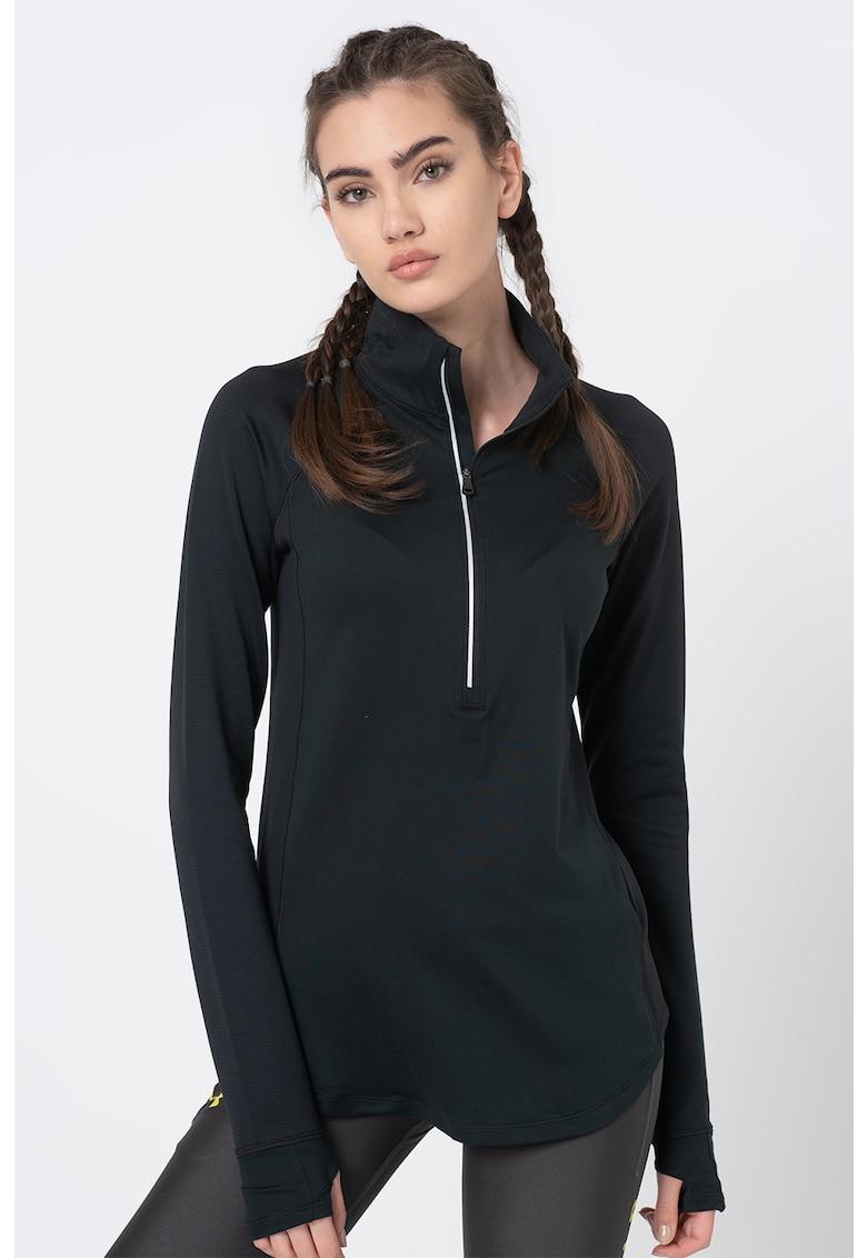 Bluza cu fenta cu fermoar - pentru fitness Threadborne imagine