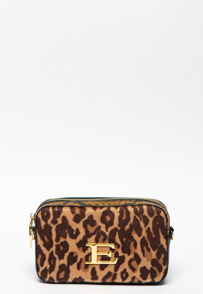 Borseta cu animal print Fulvia imagine