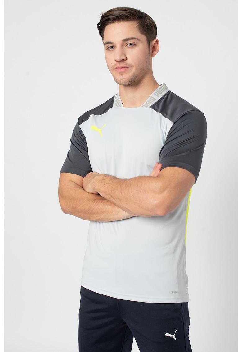 Tricou slim fit cu tehnologie dryCELL pentru fotbal FTBL NXT