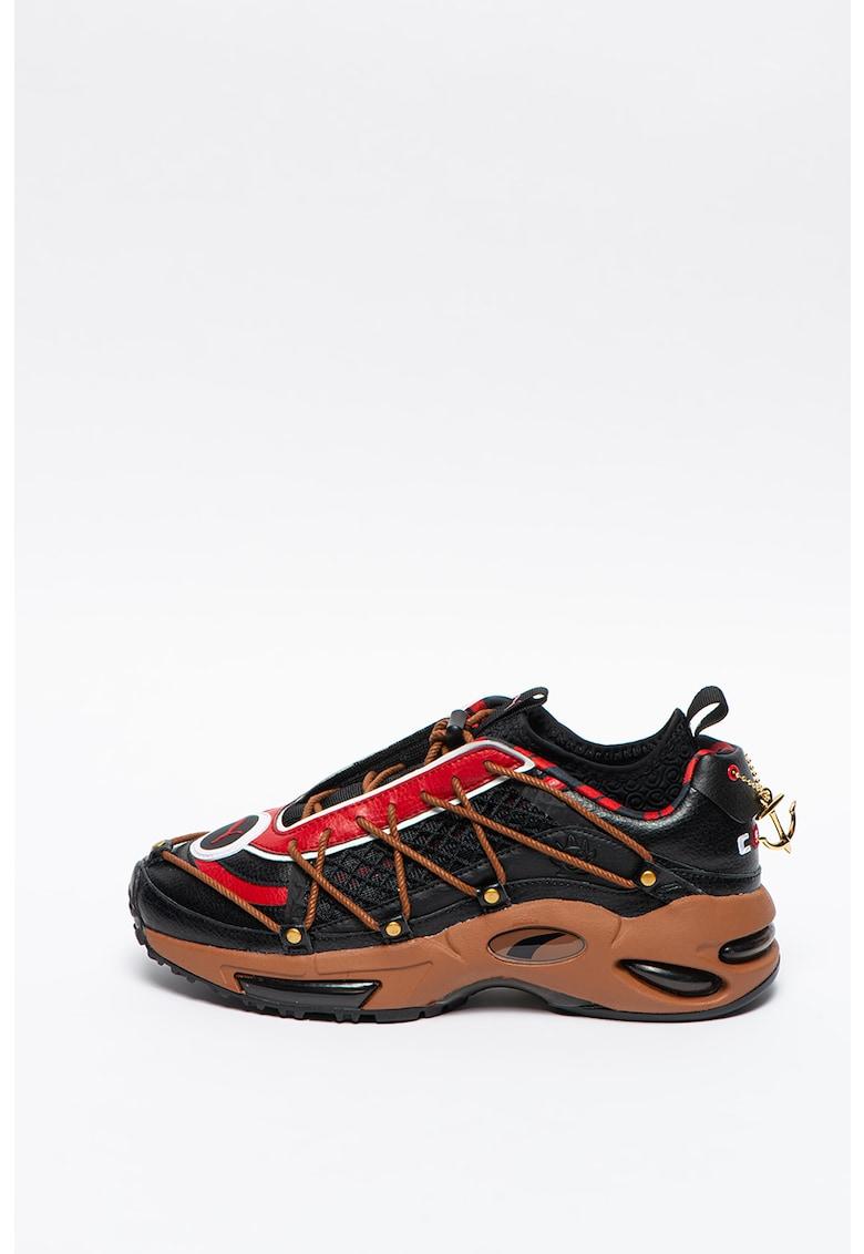 Pantofi sport fara inchidere cu aplicatii din plasa Cell Endura Puma fashiondays.ro