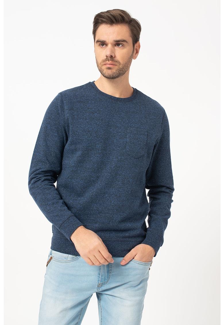 Bluza sport cu buzunar pe piept