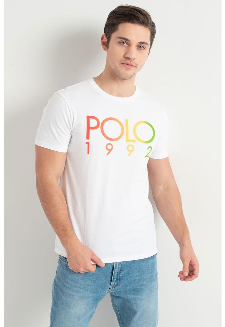 Polo Ralph Lauren Tricou slim fit cu imprimeu logo