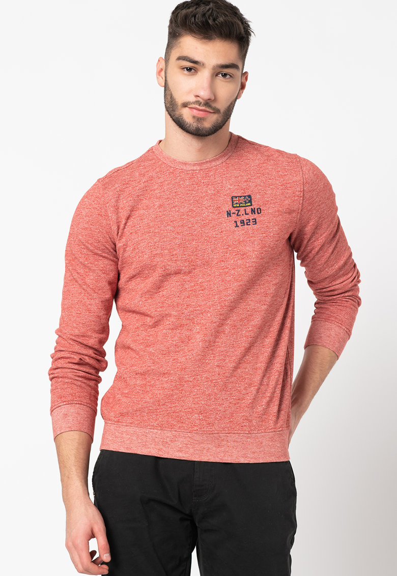 Bluza sport cu aspect texturat Waitatapia