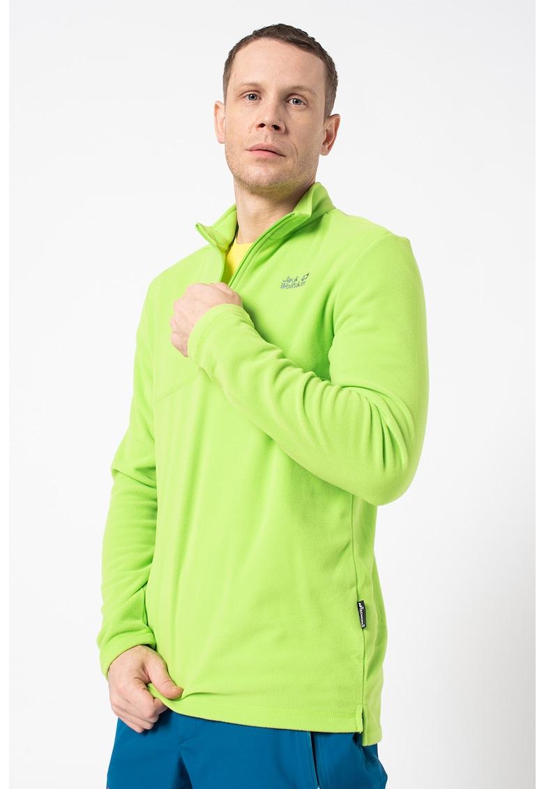 Bluza de fleece cu fenta cu fermoar - pentru drumetii Gecko