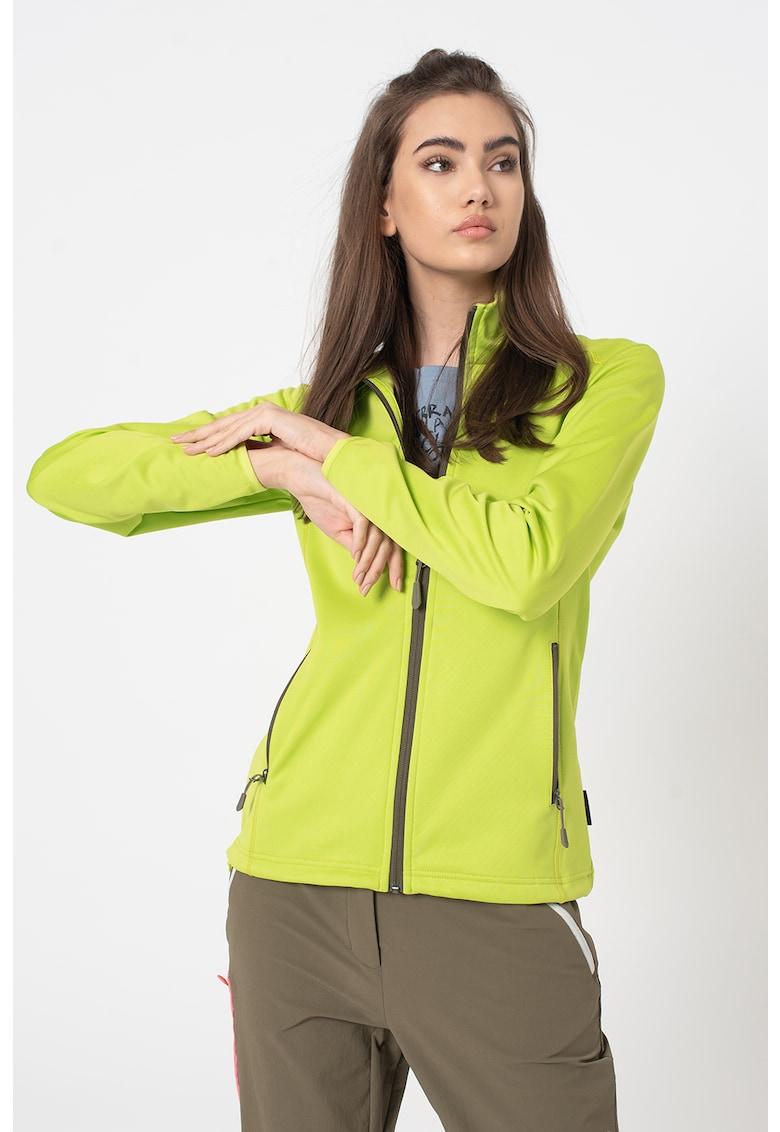 Jacheta cu fermoar si logo Horizon imagine fashiondays.ro 2021