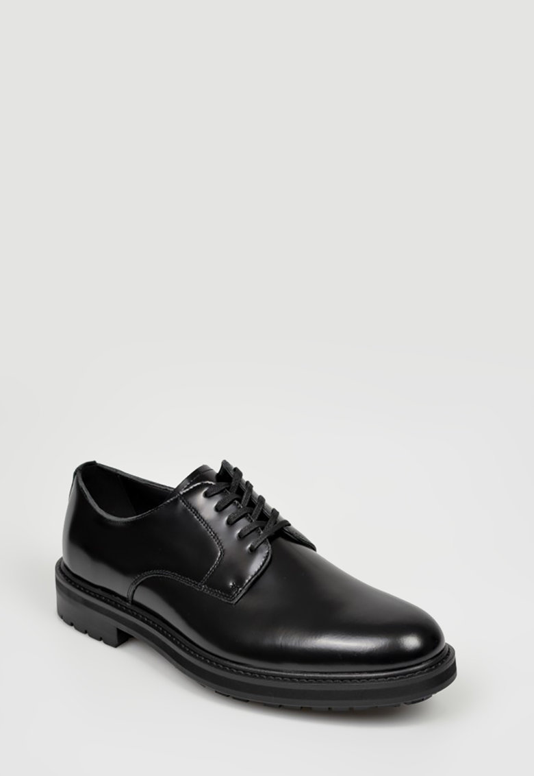 Pantofi derby de piele Acauniel