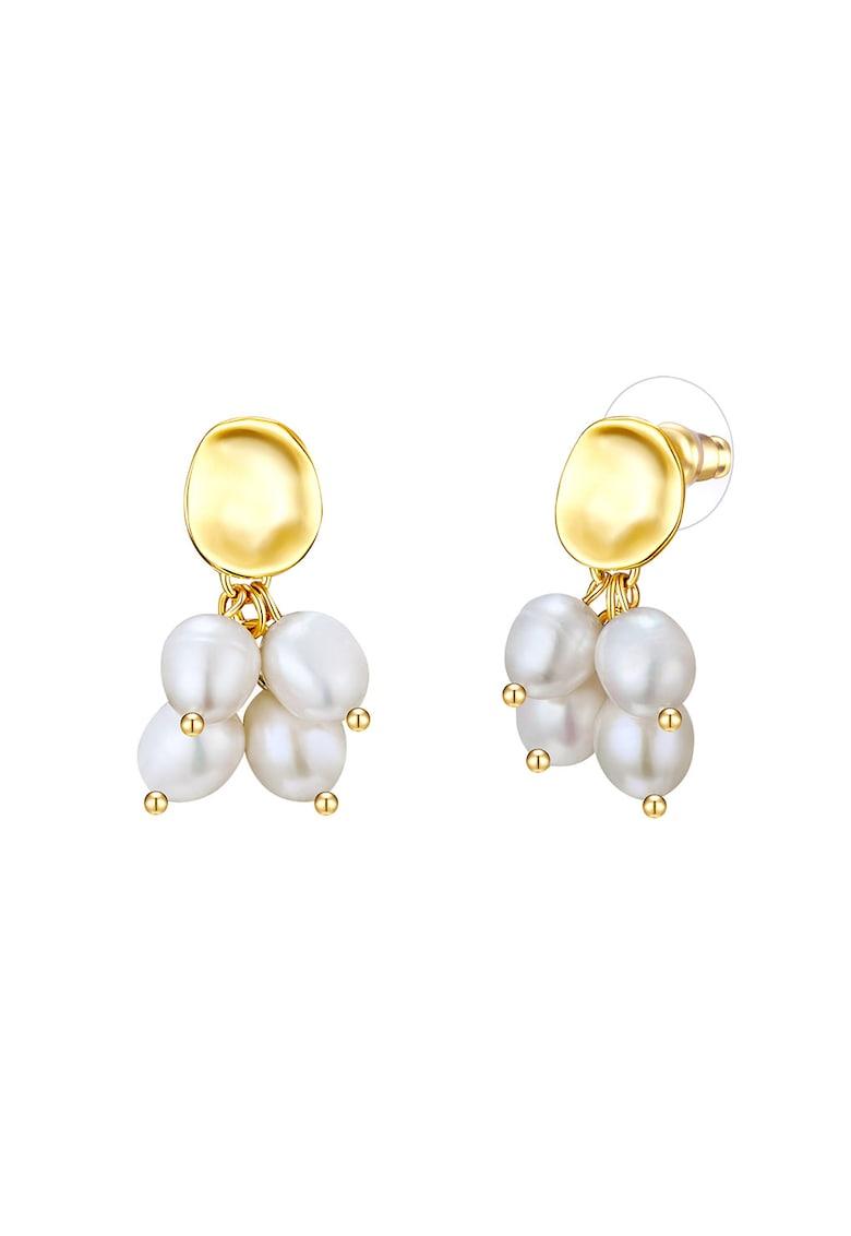 Cercei drop cu perla imagine promotie