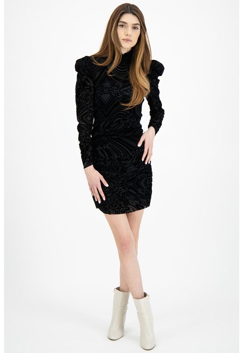 Rochie mini cu guler mediu