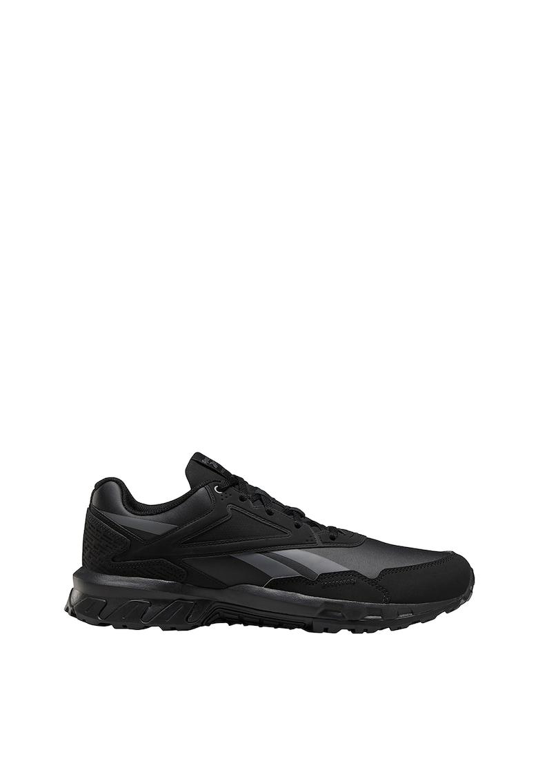 Pantofi sport cu insertii de piele ecologica Ridgerider 5.0