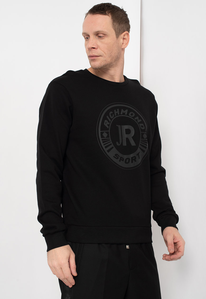 Bluza sport cu imprimeu logo Nim imagine