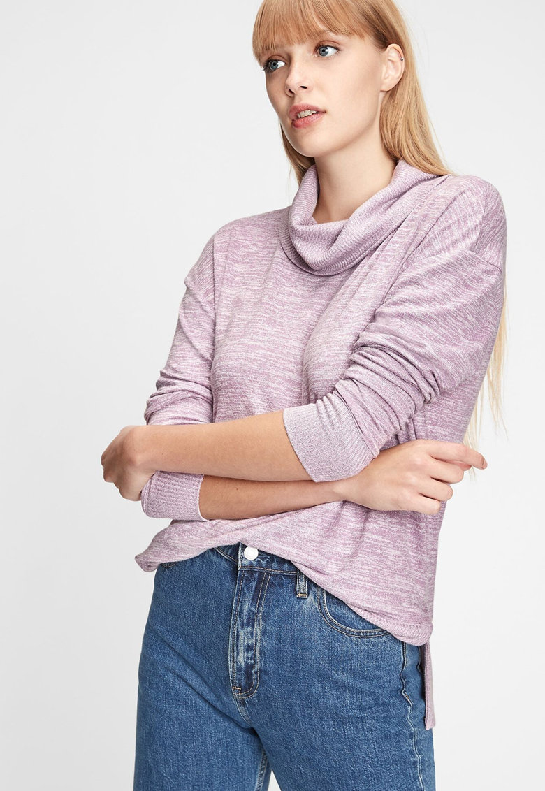 Bluza sport cu guler inalt imagine
