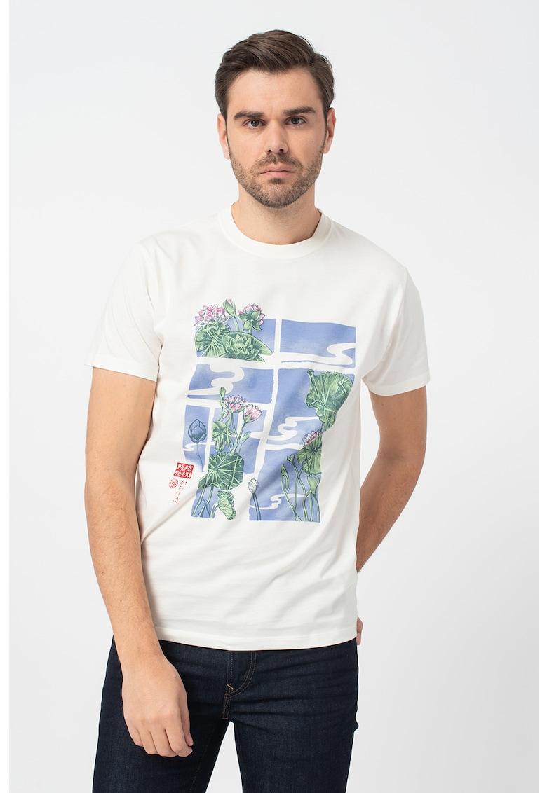 Tricou cu imprimeu grafic Seth imagine promotie