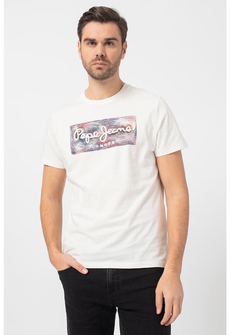Tricou cu imprimeu logo Almos imagine promotie