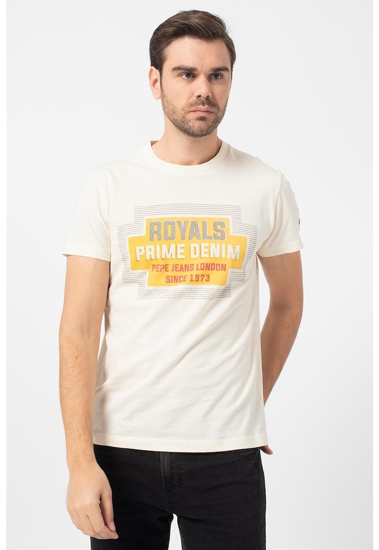 Tricou cu imprimeu text Armstrong imagine promotie