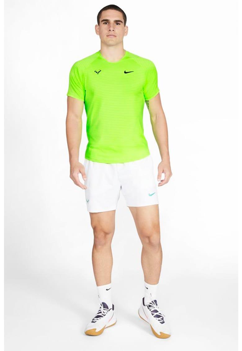 Tricou cu maneci raglan pentru tenis AeroReact Rafa Slam