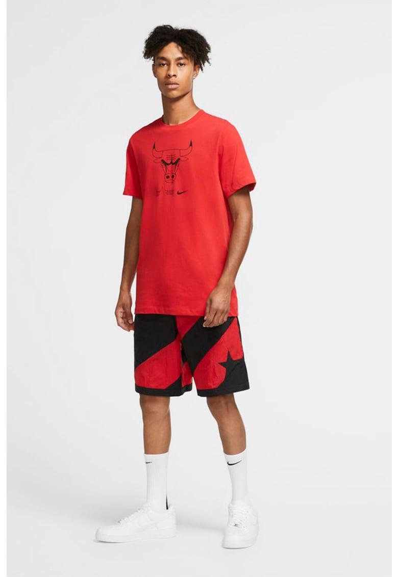 Tricou cu imprimeu grafic pentru baschet