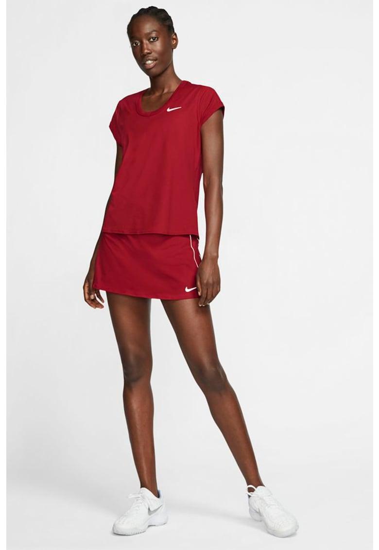 Tricou slim fit cu tehnologie Dri-FIT - pentru tenis