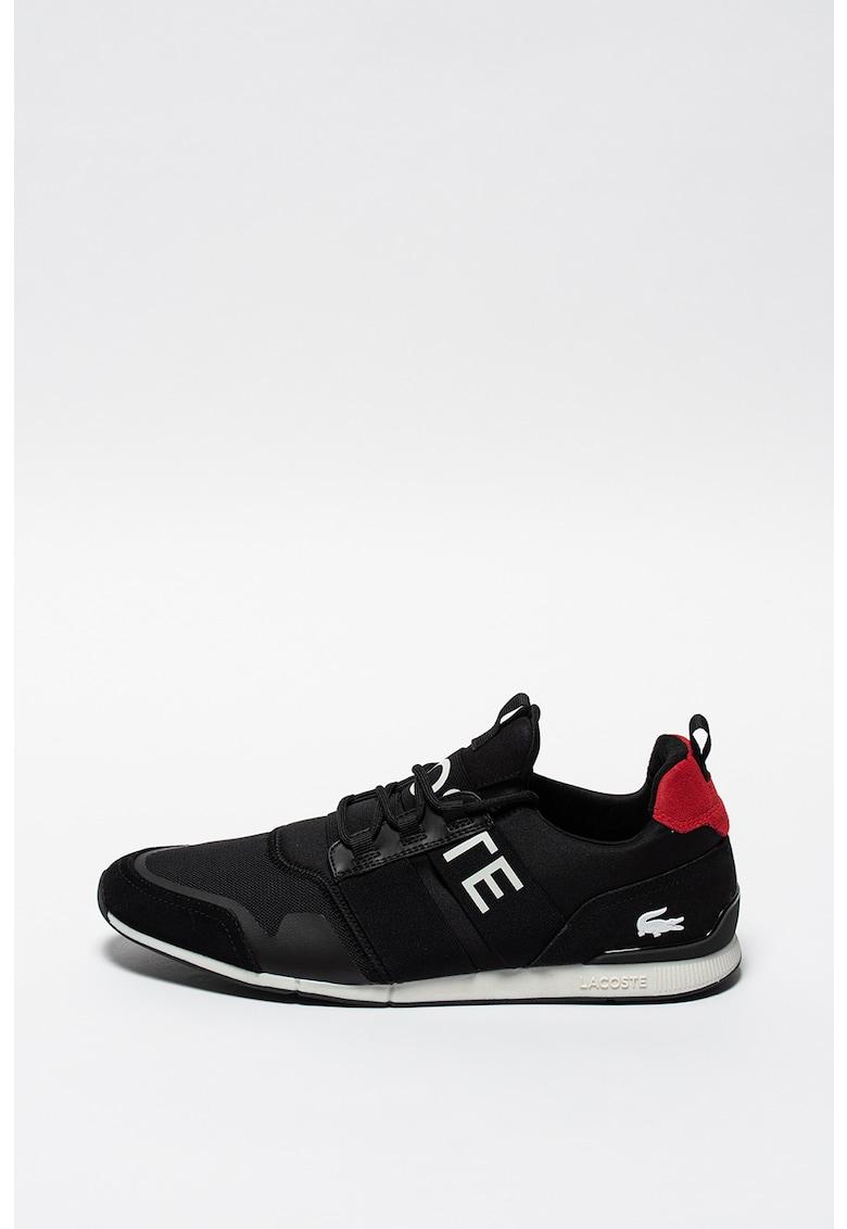 Pantofi sport cu garnituri de piele intoarsa Menerva Elite imagine