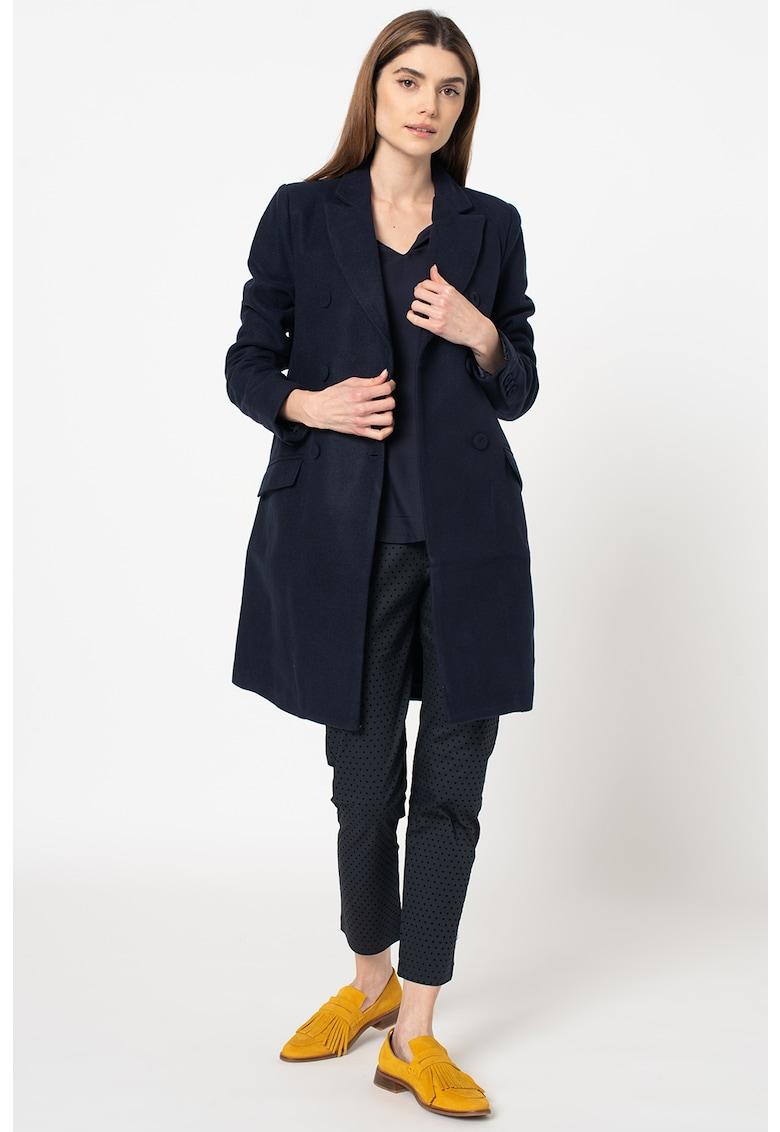Palton cu doua randuri de nasturi Zamira imagine