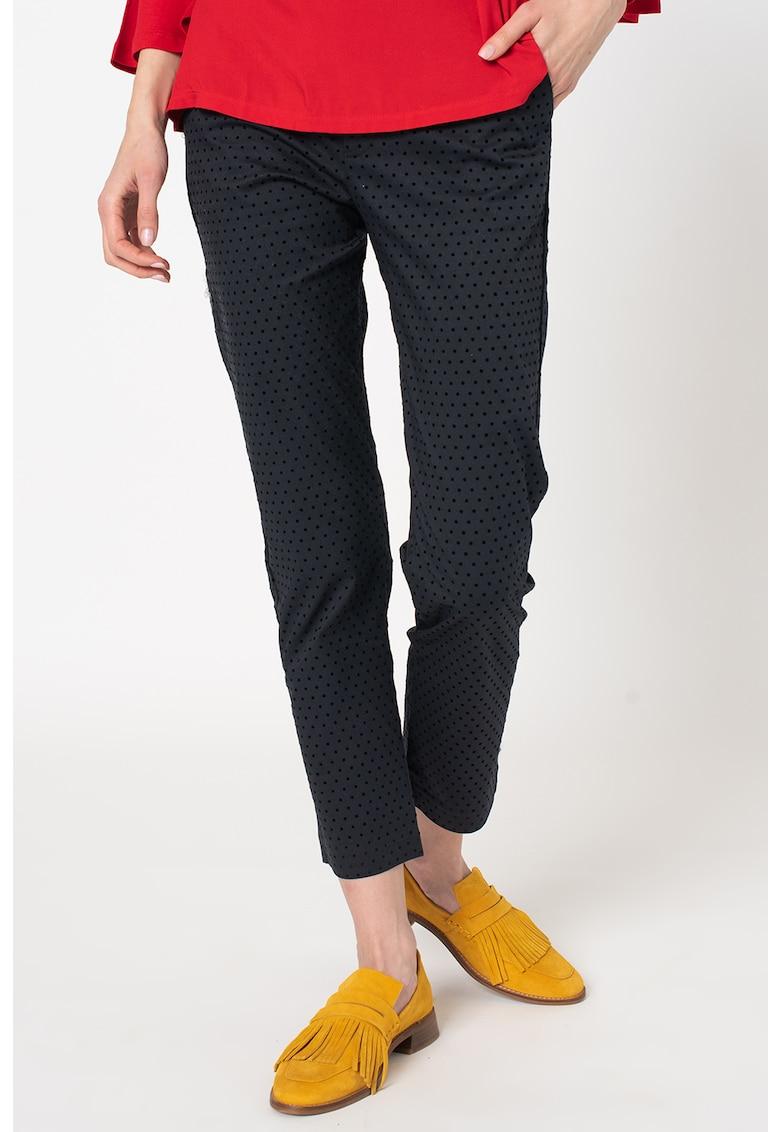 Pantaloni chino cu buline Debbie