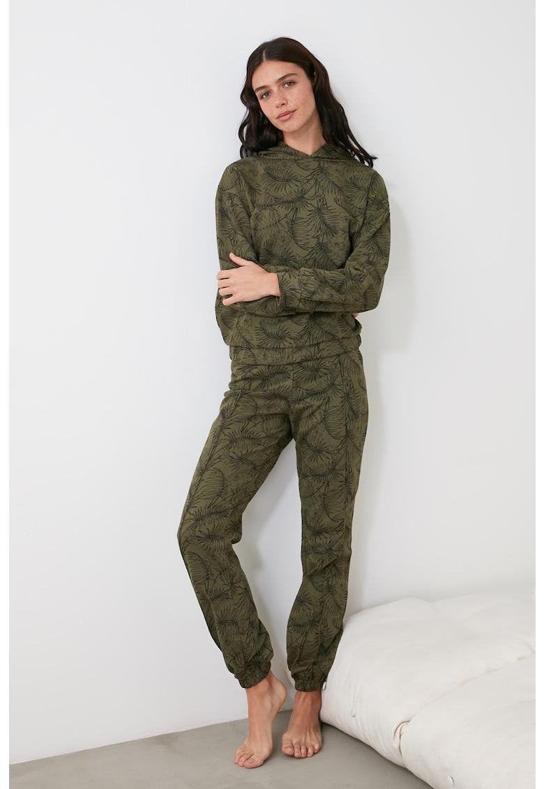 Pijama cu model tropical