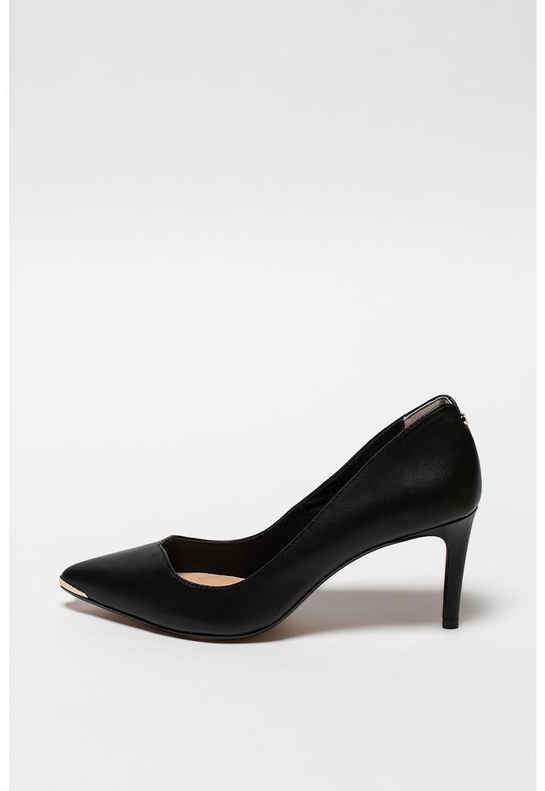 Pantofi stiletto de piele Kinsley imagine promotie