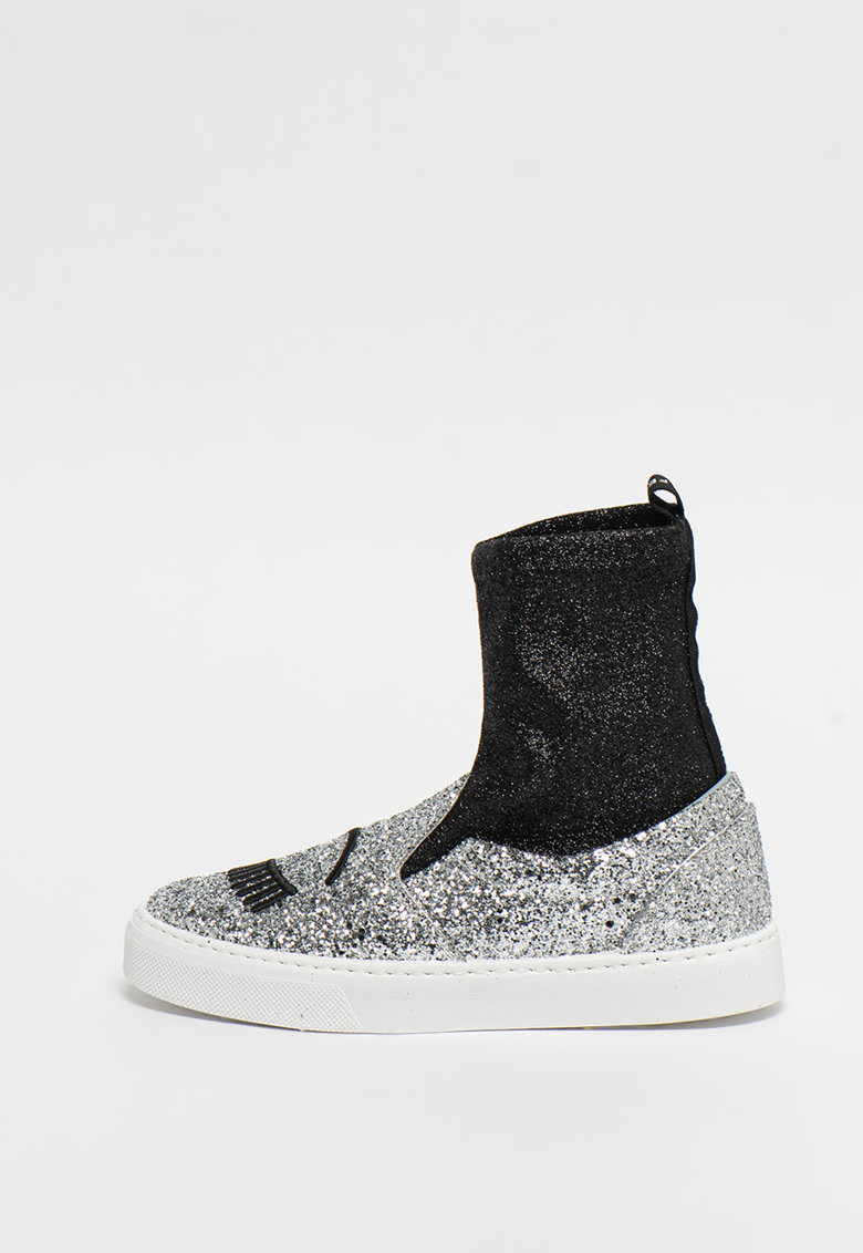 Pantofi sport high-cut - slip on tip soseta