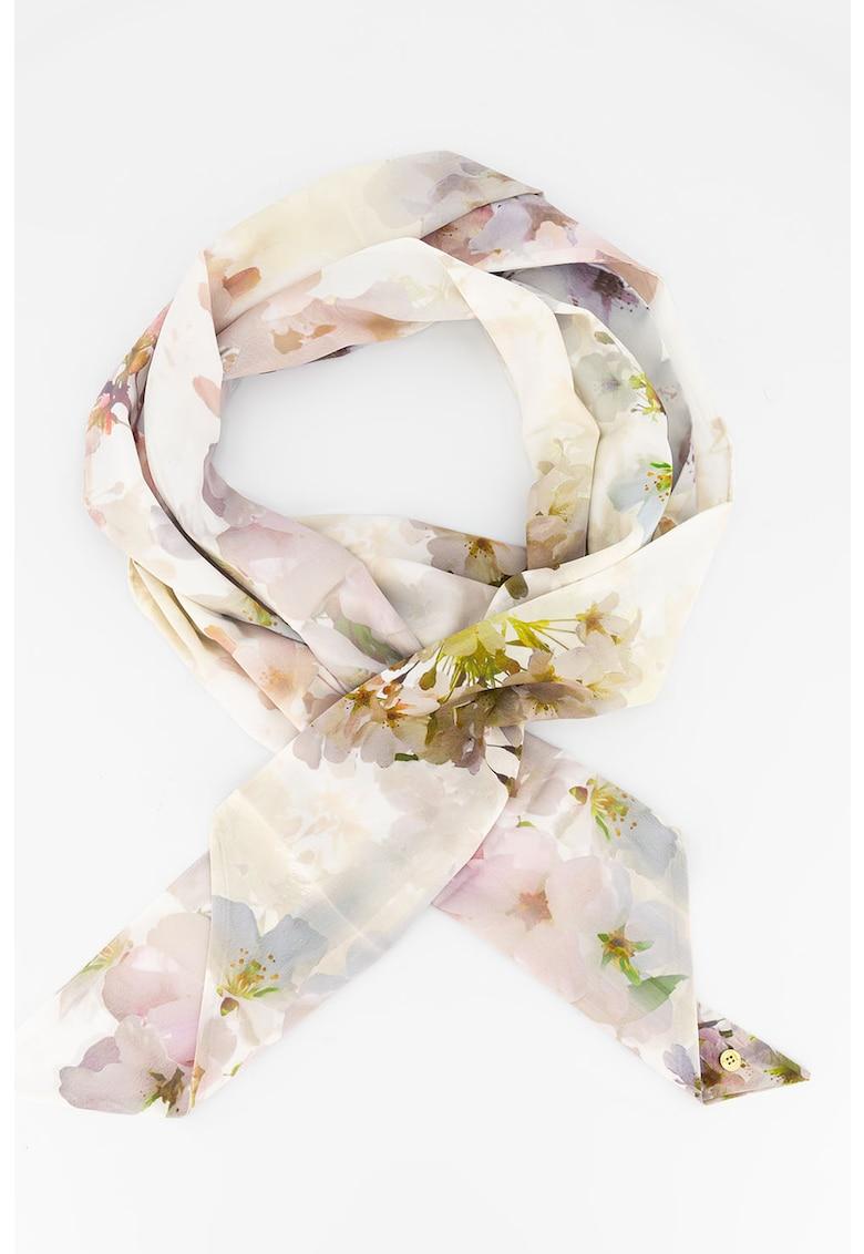 Esarfa cu model floral Fionnaa imagine fashiondays.ro Ted Baker