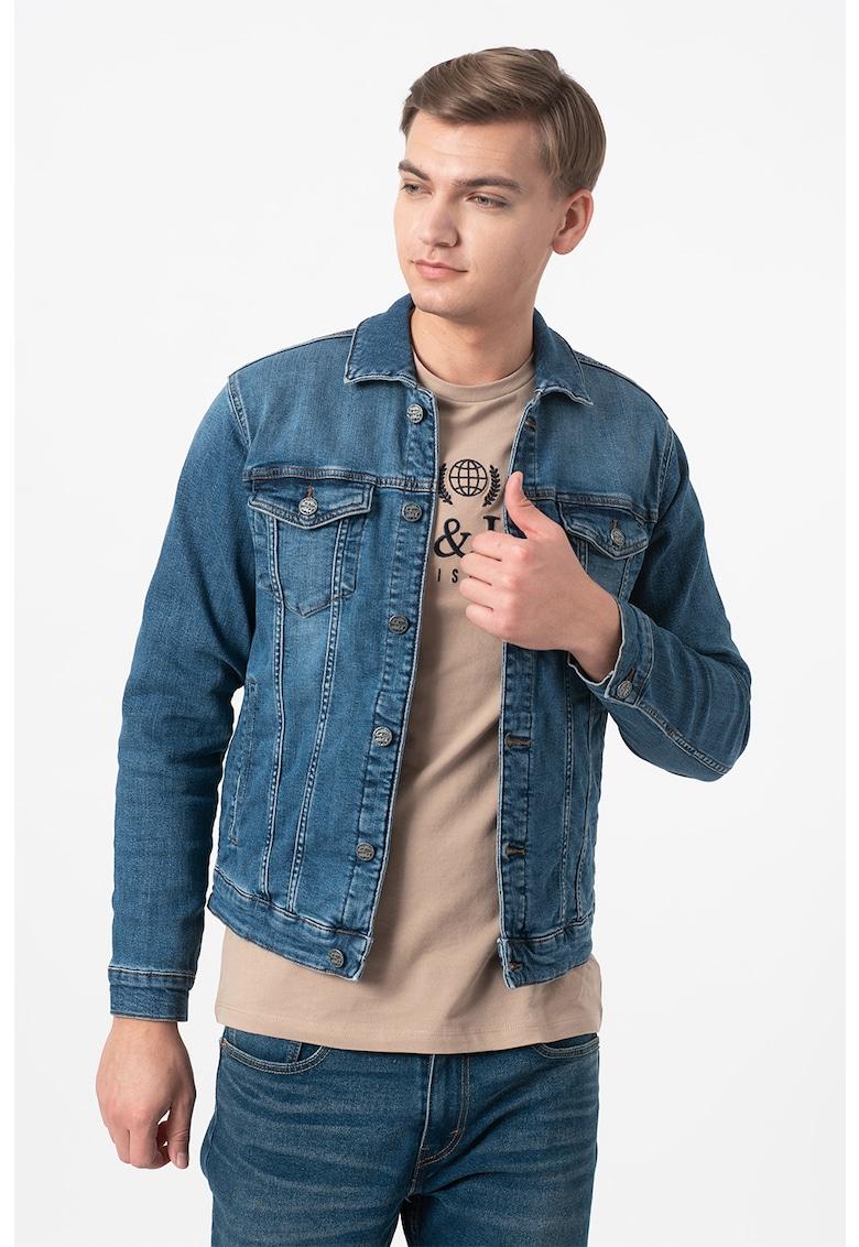 Jacheta din denim Coin Life