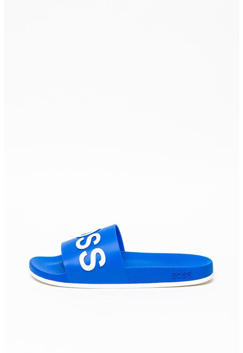 Papuci cu logo supradimensionat imagine