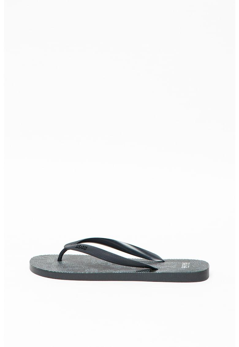 Papuci flip-flop cu aspect texturat Pacific imagine