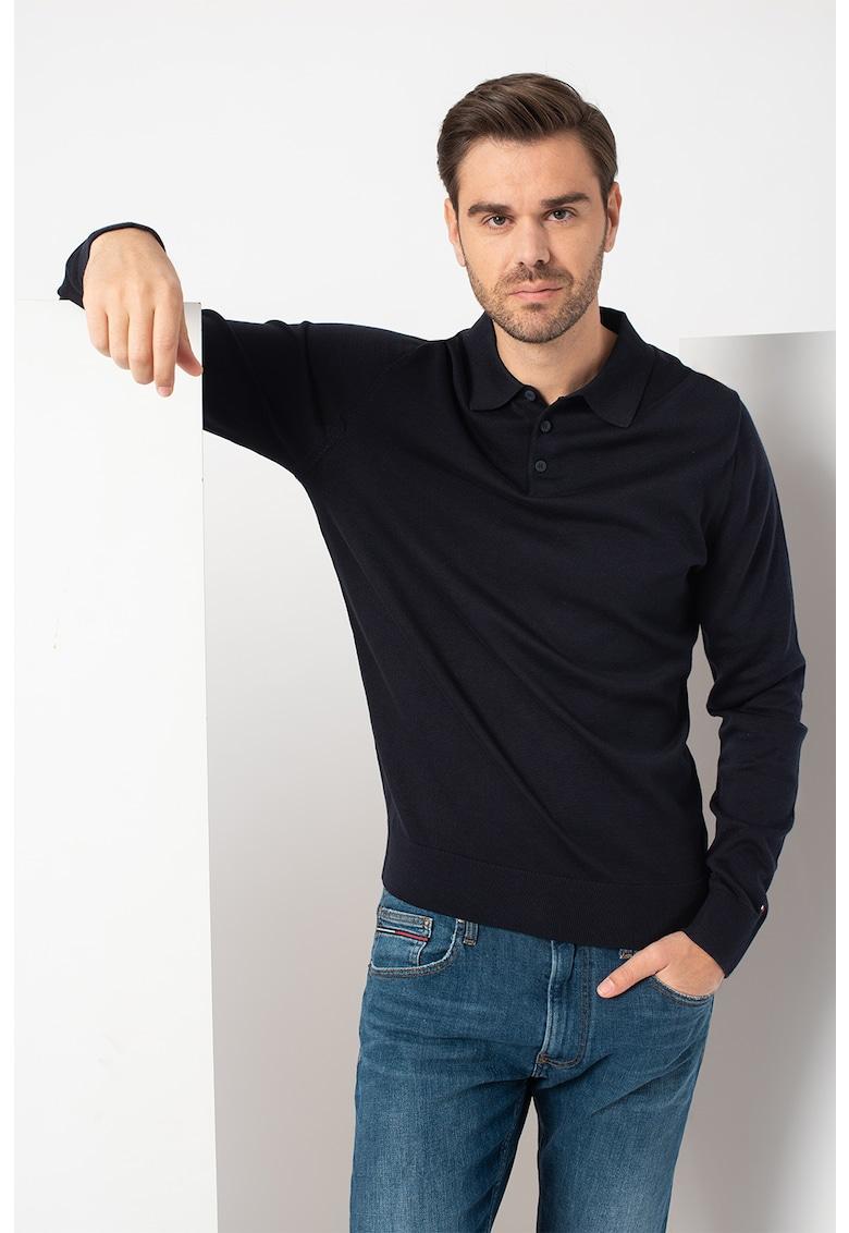 Bluza polo de pique imagine