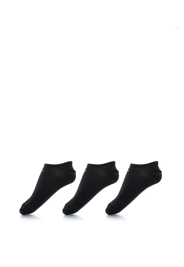 Nike Sosete foarte scurte – unisex – pentru fitness Value – 3 perechi
