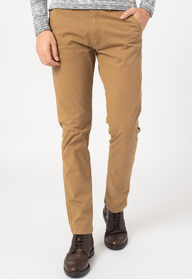 Pantaloni drepti cu buzunare imagine fashiondays.ro