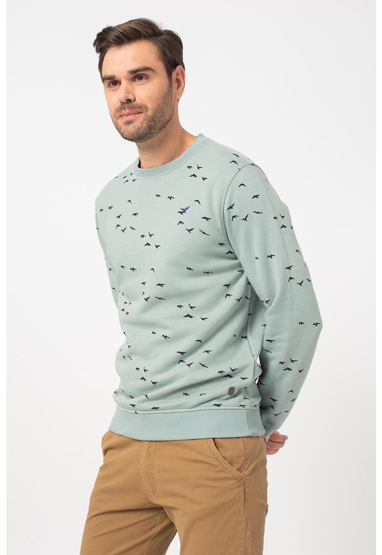 Bluza sport cu imprimeu grafic 1 imagine