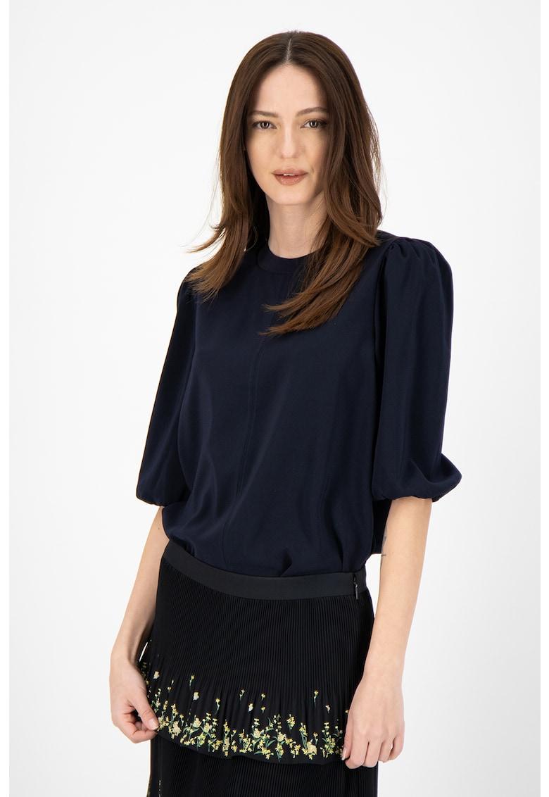 Bluza cu maneci bufante Hamish imagine fashiondays.ro Ted Baker