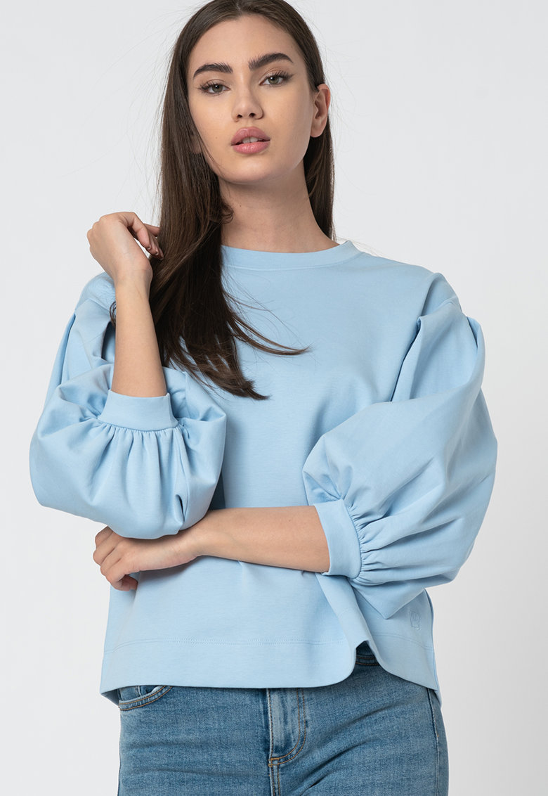 Bluza cu maneci bufante trei sferturi Irissa