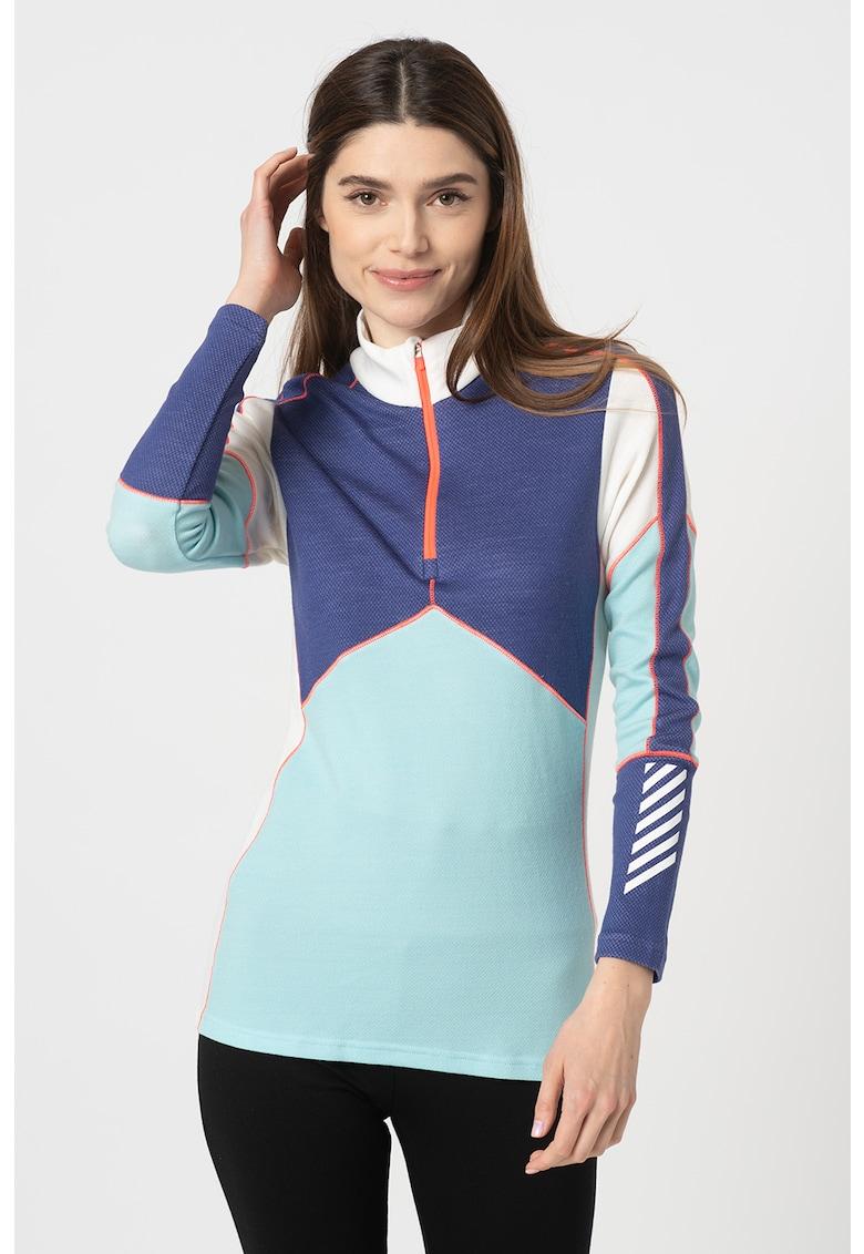 Helly Hansen Bluza termica regular fit de lana merino - pentru ski Lifa