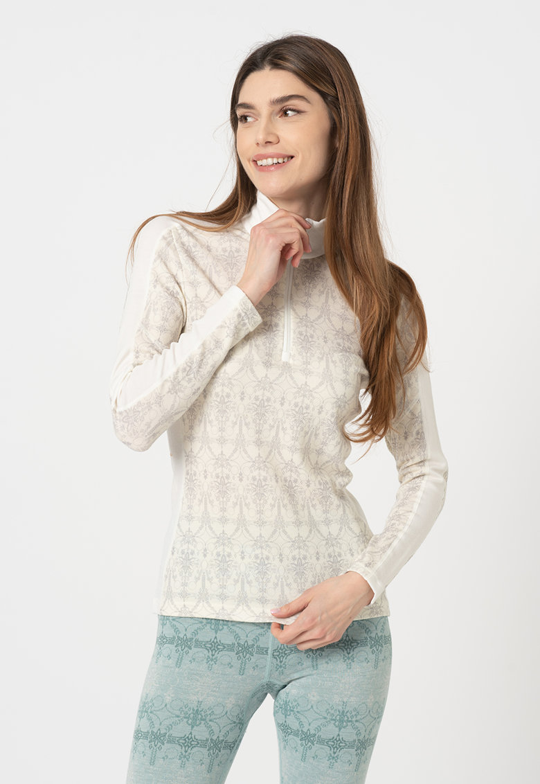 Bluza termica de lana merino - pentru ski Lifa imagine