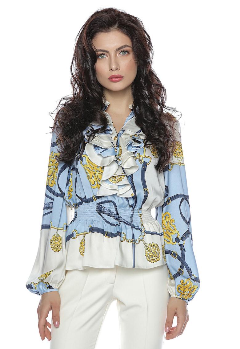 Bluza cu model baroque
