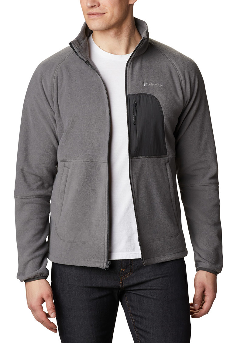Bluza sport din material fleece - pentru drumetii Rapid Expedition™