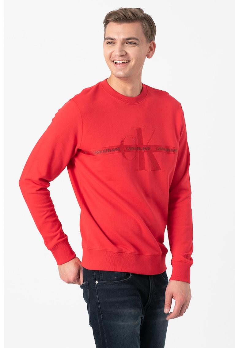 Bluza sport cu imprimeu logo 10 poza fashiondays