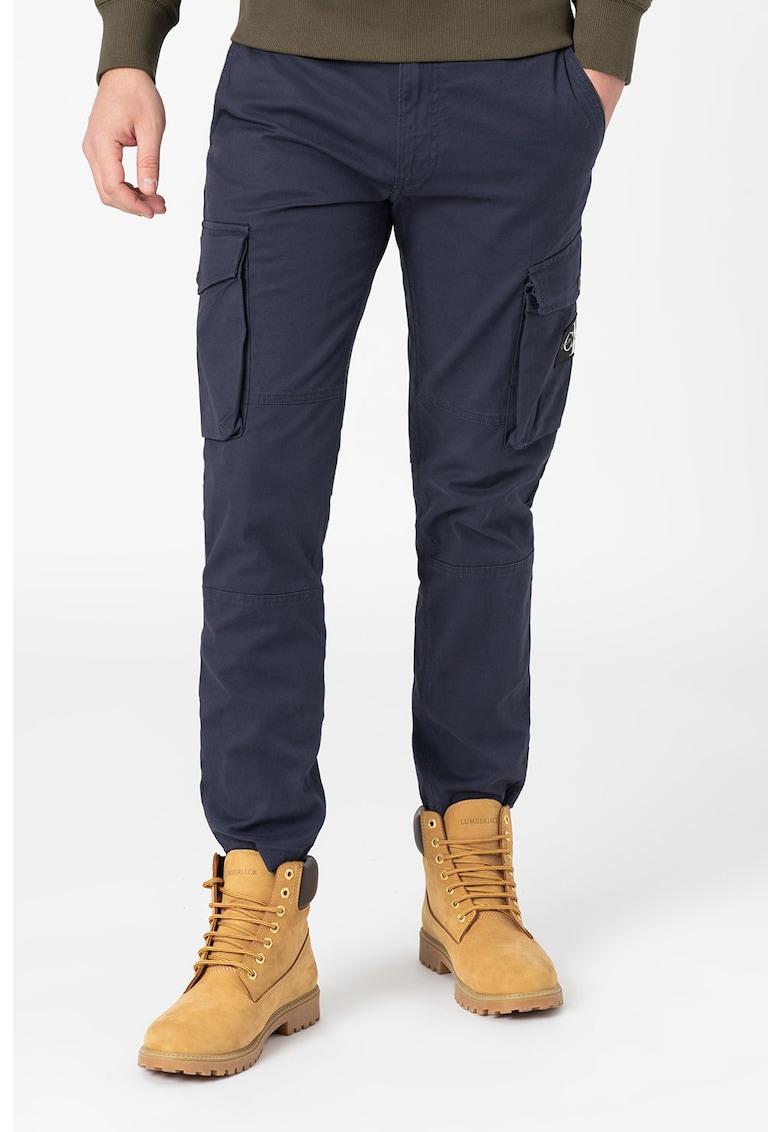 Pantaloni cargo slim fit imagine