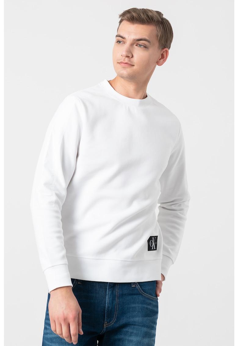 Bluza sport cu aplicatie logo 9 imagine